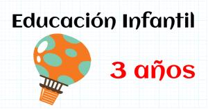 matemáticas educación infantil 3 años