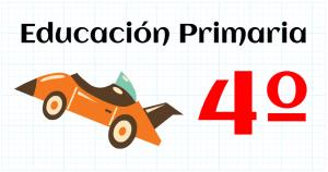 matemáticas cuarto educación primaria