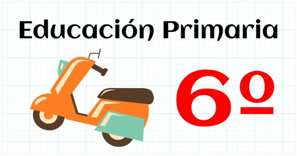matemáticas sexto educación primaria