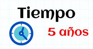 TIEMPO - EDUCACION INFANTIL 5 AÑOS