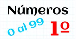 EDUCACION PRIMARIA 1º - 0 AL 99