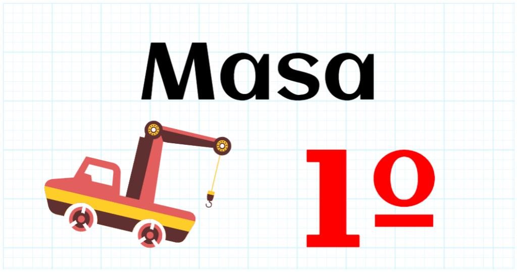 MASA - EDUCACION PRIMARIA 1º