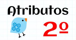 ATRIBUTOS - EDUCACION PRIMARIA 2º