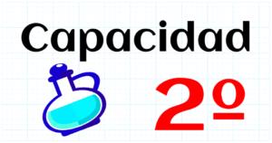 CAPACIDAD - EDUCACION PRIMARIA 2º