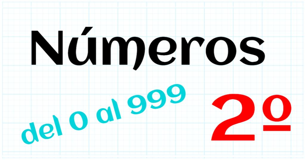 EDUCACION PRIMARIA 2º - 0 A 999