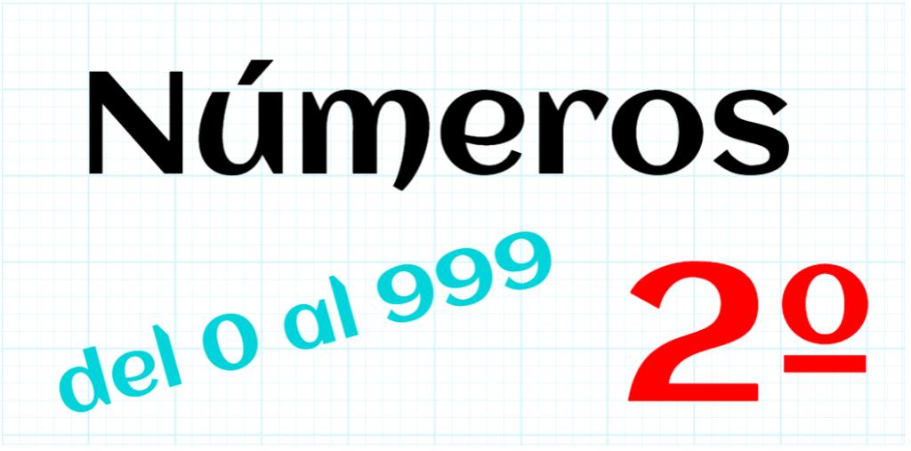 EDUCACION PRIMARIA 2º - 0 AL 999