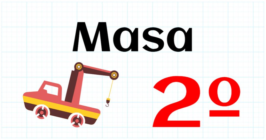 MASA - EDUCACION PRIMARIA 2º