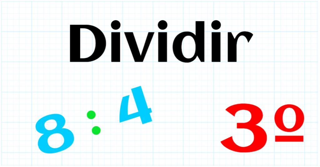EDUCACION PRIMARIA 3º - DIVIDIR