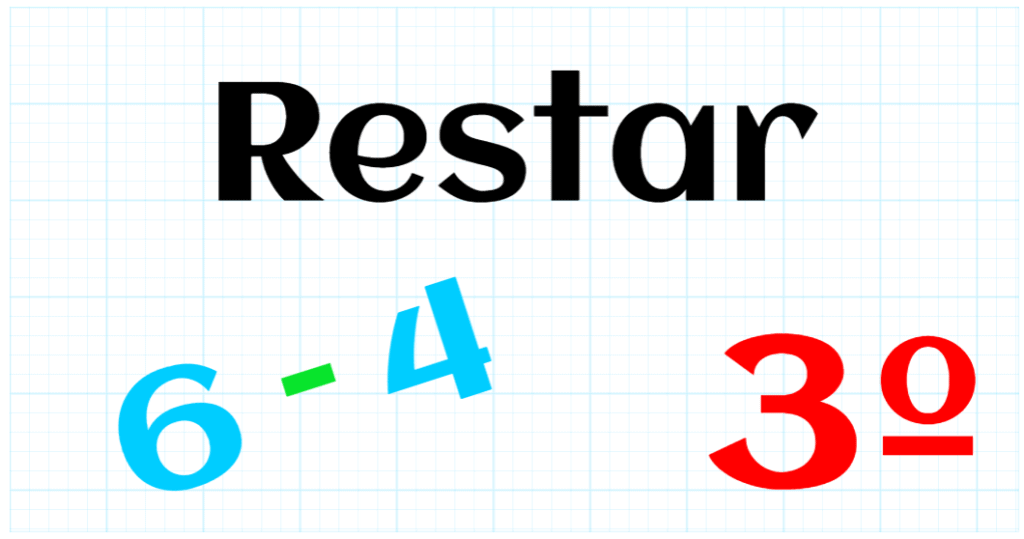 EDUCACION PRIMARIA 3º - RESTAR