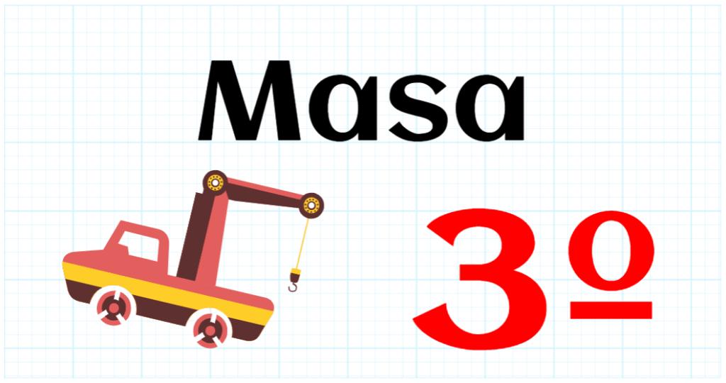MASA - EDUCACION PRIMARIA 3º