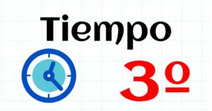 TIEMPO - EDUCACION PRIMARIA 3º