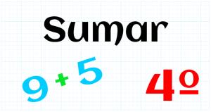 EDUCACION PRIMARIA 4º - SUMAR