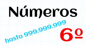 EDUCACION PRIMARIA 6º - 999.999.999