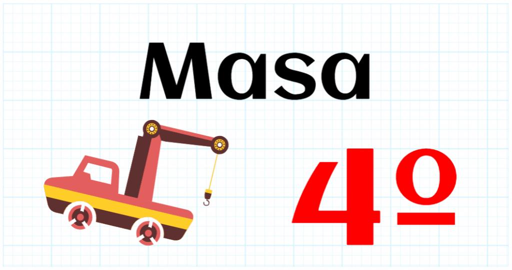MASA - EDUCACION PRIMARIA 4º