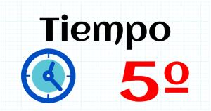 TIEMPO - EDUCACION PRIMARIA 5º