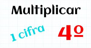 EDUCACION PRIMARIA 4º - MULTIPLICAR POR 1 CIFRA