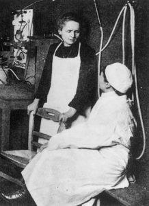 marie curie y radioterapia