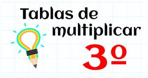 tablas multiplicar 3º
