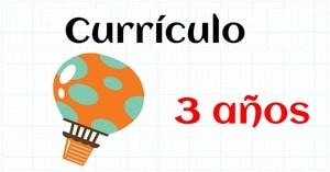 CURRICULUM MATEMATICAS EDUCACION INFANTIL 3 AÑOS