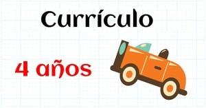 CURRICULUM MATEMATICAS EDUCACION INFANTIL 4 AÑOS