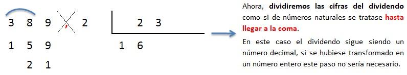 explicacion paso a paso division numero decimal entre decimal 2