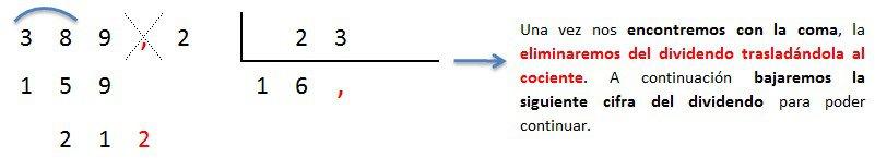 explicacion paso a paso division numero decimal entre decimal 3