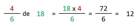 ejemplo y explicacion calculo fraccion de un numero