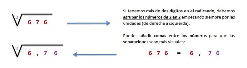 explicacion y solucion raiz cuadrada exacta 3 cifras 1