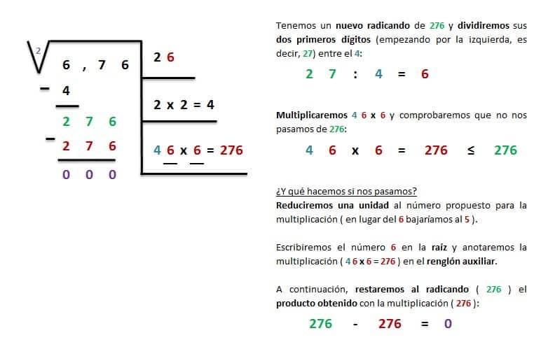 solucion raiz cuadrada exacta hasta 999