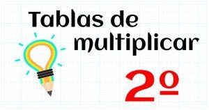 tablas multiplicar 2º