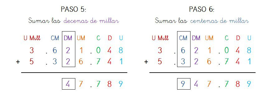 suma y solucion 7 cifras sin llevar - 3