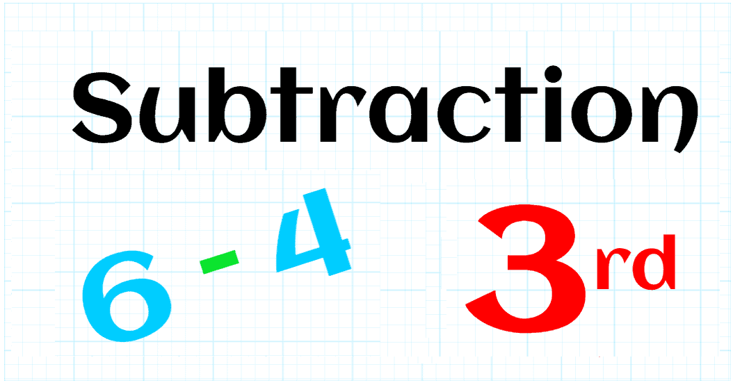 SUBTRACTION UP TO 99,999 - 3RD GRADE